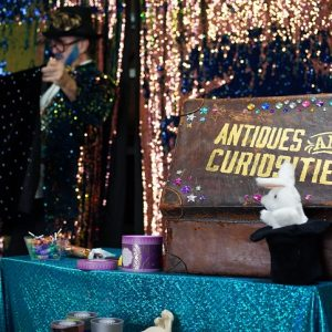 Kids magic show party with Perth Party Time