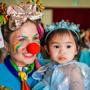 Perth Toddler Baby Party princess clown