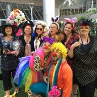 Roving Clowns at Corporate Event Perth