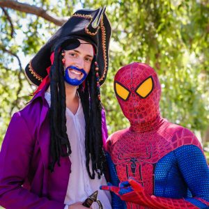 Spiderman-Perth-Party-Kids-Adventure-Boy-Birthday-Pirate-